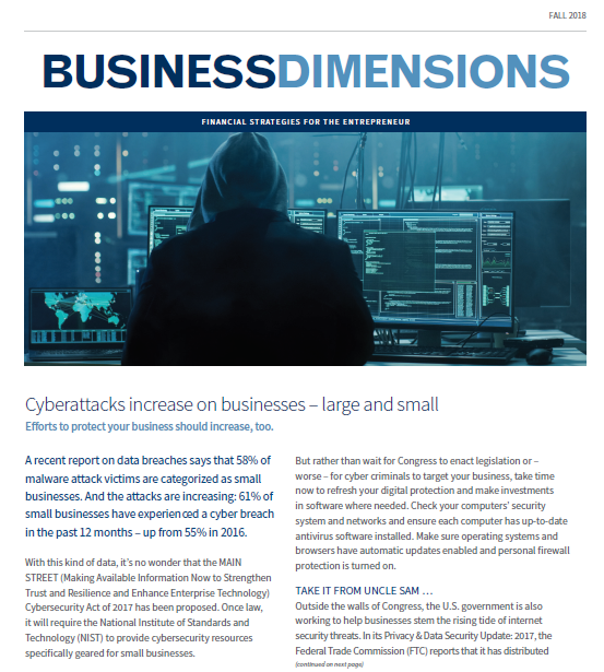 Fall2018 BD CyberAttacks